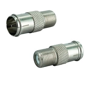 coaxial slide-on adapter