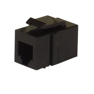RJ12 - RJ12 feedthrough coupler - keystone