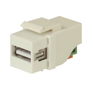USB2 - spring-lever contacts - keystone