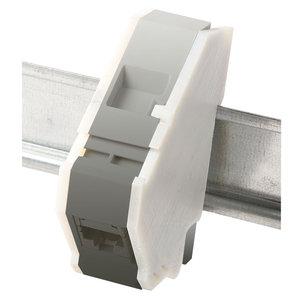 Sidecovers for DIN-rail keystone holders