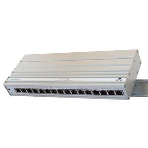 Ethernet Switch 16 x Gigabit - DIN rail mount