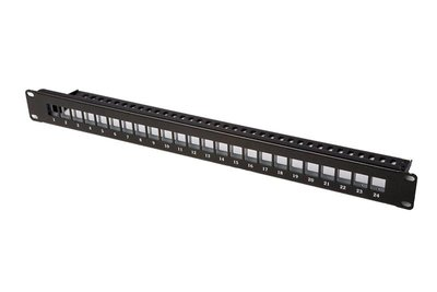 19 inch 1HU patchpanel