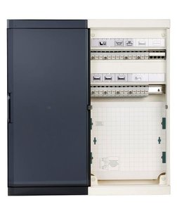 Connect Pro F/FTP or S/TP CAT6 + COAX Home Cabinet - 6 rooms - BE  (ABI-HP3124S23-1406)