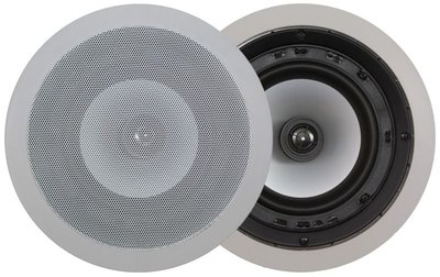 "In-Wall/Ceiling round speaker - 6,5"" - 2way"