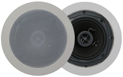 "In-Wall/Ceiling round speaker - 5,25""- 2way"