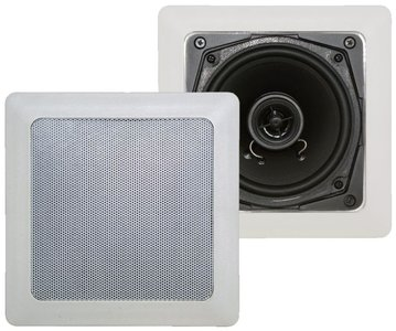 """In-Wall/Ceiling square speaker - 5,25""""- 2way"""