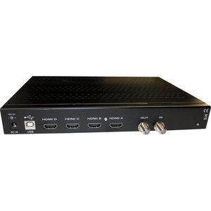 HDMI DVB-T/DVB-C 4-source Encoder / Modulator