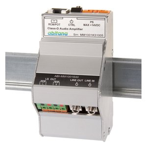 Home Control DIN-rail Stereo amplifier