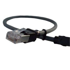 shielded  patch cord RJ45-RJ45