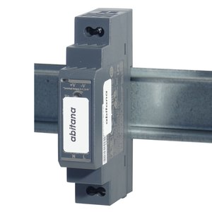 Power supply 5V 2,4A - 2 outputs - DIN-rail mount