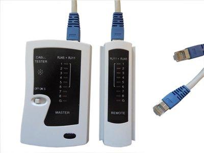 Wiremap network cabling tester for RJ45, RJ12, RJ11 links  (ABI-TT1002S00)