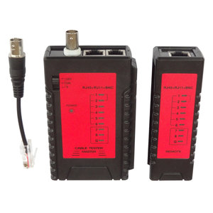 Wiremap network cabling tester